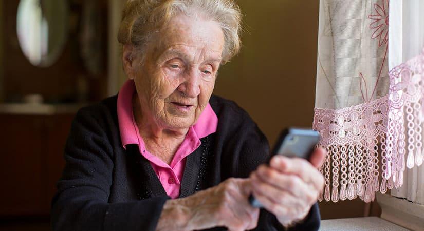 téléphone portable pour séniors